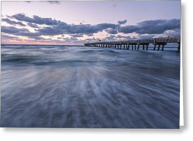 Pink Prints Greeting Cards - A Little Closer Greeting Card by Jon Glaser