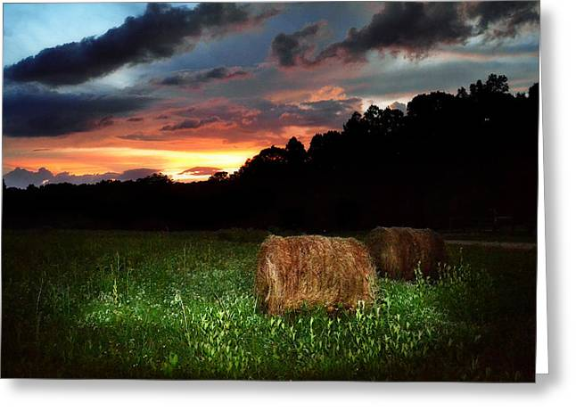 A Little Country Greeting Card by Adam LeCroy
