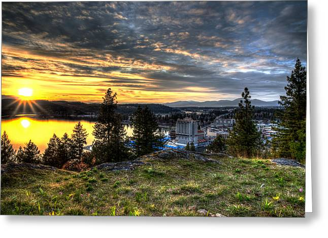 North Idaho Greeting Cards - A Little Piece of Heaven Greeting Card by Derek Haller