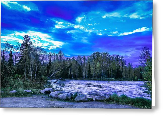 River Flooding Greeting Cards - A little piece of heaven Greeting Card by Tyler Olson
