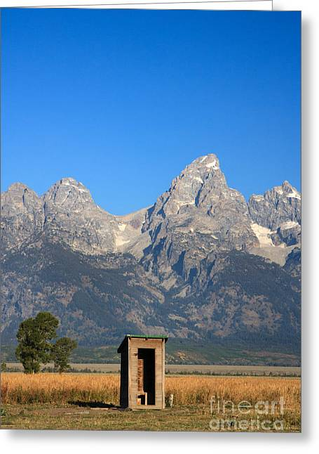 Us Open Photographs Greeting Cards - A Little Privacy Please Greeting Card by Karen Lee Ensley