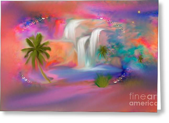 Nicholas Greeting Cards - A Little Secret Place In Heaven to Meditate Greeting Card by Sherri  Of Palm Springs
