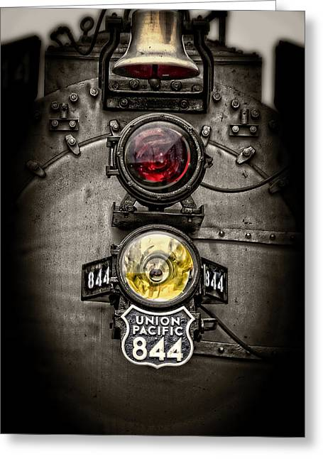 Union Pacific Greeting Cards - A Living Legend Greeting Card by Ken Smith