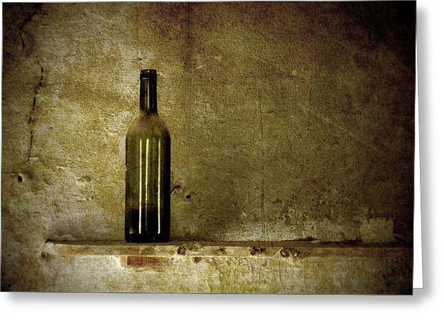 A Lonely Bottle Greeting Card by RicardMN Photography