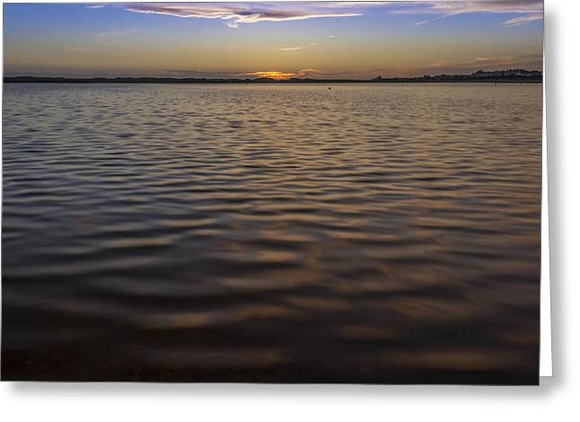 Crosby Greeting Cards - A look across the lake Greeting Card by Paul Madden
