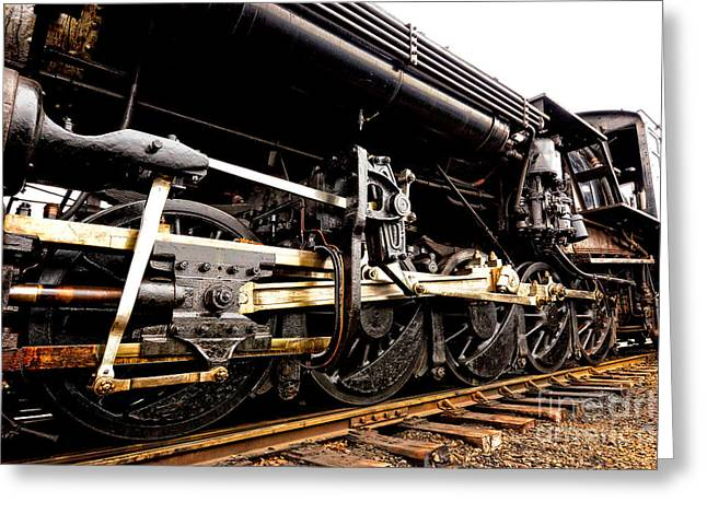 Strasburg Greeting Cards - A Lot of Steel Greeting Card by Paul W Faust -  Impressions of Light