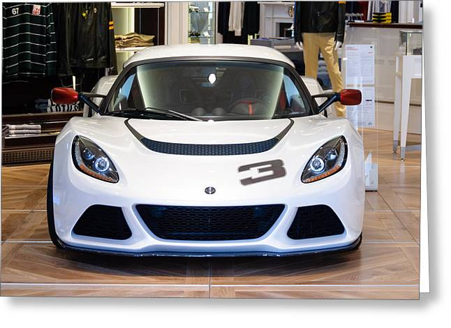 Lotus Sportscar Greeting Cards - A Lotus Exige S Greeting Card by Dutourdumonde Photography