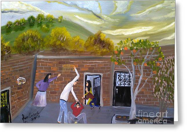 Asta Greeting Cards - A Love Of My Father Greeting Card by Juan Carlos Gonzalez