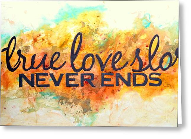 Naturalistic Greeting Cards - A love story never ends Greeting Card by Ivan Guaderrama