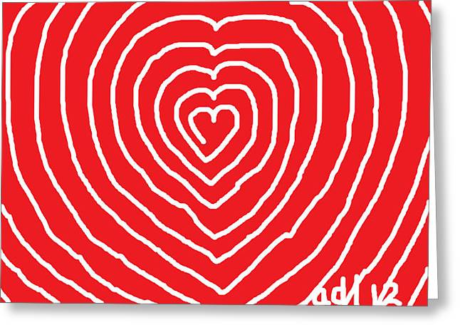 Forgiveness Drawings Greeting Cards - A Love That is Without Limits Greeting Card by Anita Dale Livaditis