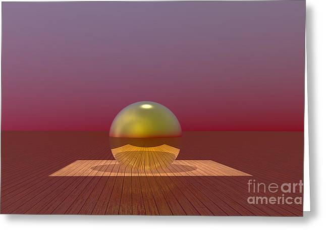 A Lozenge For The Soul Greeting Card by Barbara Milton
