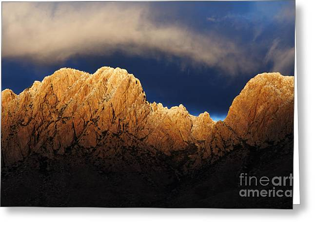 Las Cruces Photograph Greeting Cards - A Magic Moment Greeting Card by Vivian Christopher