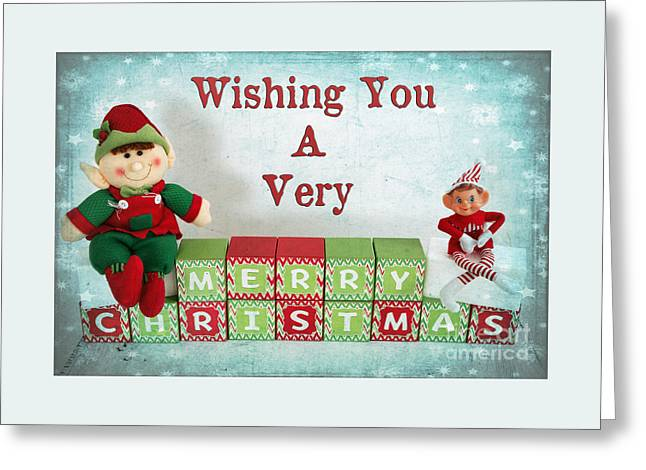 Christs Birthday Greeting Cards - A Magical Christmas Greeting Card by Carolyn Rauh