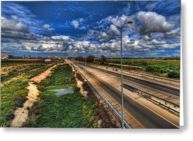 No People Greeting Cards - a majestic springtime in Israel Greeting Card by Ron Shoshani
