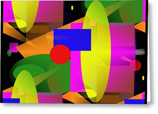 A Matter Of Perspective - Series Greeting Card by Glenn McCarthy Art and Photography