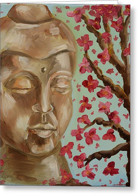 Pondering Paintings Greeting Cards - A Minds Journey Greeting Card by Dawn Pfeufer