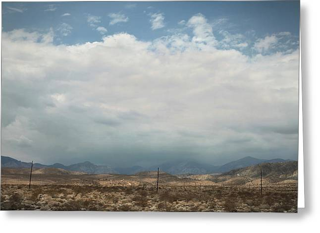 California Deserts Greeting Cards - A Mix of Emotions Greeting Card by Laurie Search