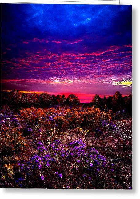 A Moment Greeting Card by Phil Koch