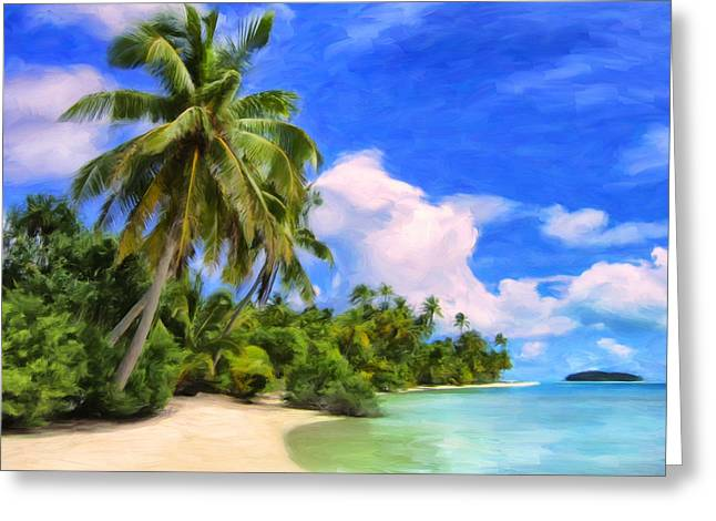 Lahaina Greeting Cards - A Moments Peace Greeting Card by Dominic Piperata