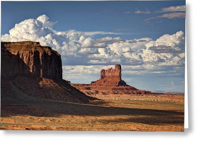 Monsoon Clouds Greeting Cards - A Monumental Morning  Greeting Card by Saija  Lehtonen