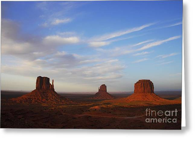 Monolith Greeting Cards - A Monumental View  2 Greeting Card by Mel Steinhauer