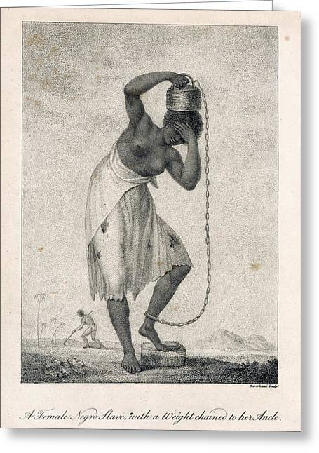 A Negro Slave Greeting Card by British Library