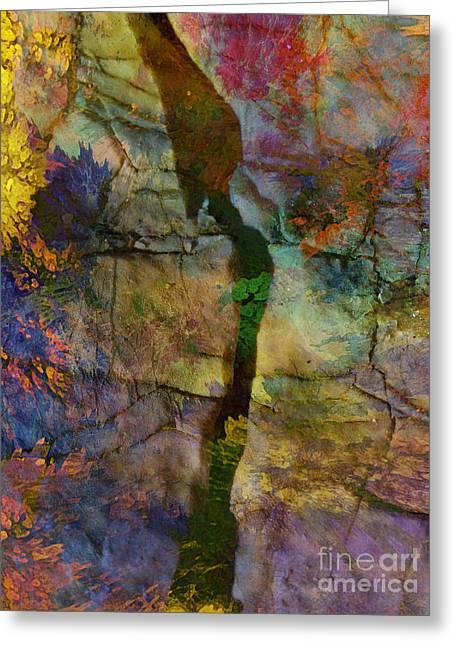 Digita Art Greeting Cards - A New Beginning Greeting Card by Klara Acel