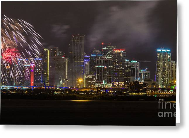 Miami Heat Greeting Cards - A New Beginning Greeting Card by Rene Triay Photography