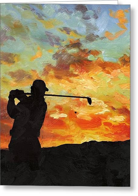 The Masters Greeting Cards - A new dawn Greeting Card by Catf