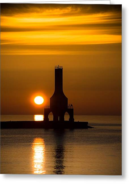 A New Day Greeting Card by James  Meyer