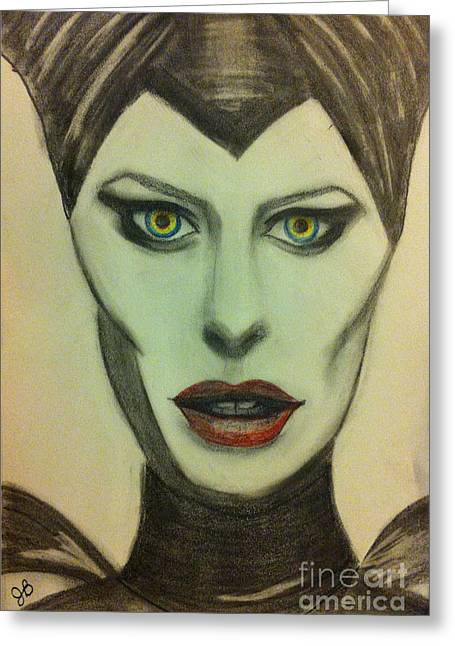 Maleficent Greeting Cards - A New Maleficent Greeting Card by Joy Borsavage
