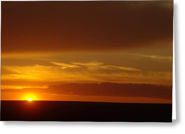 A Nice Cintemplative Sky  Greeting Card by Jeff Swan