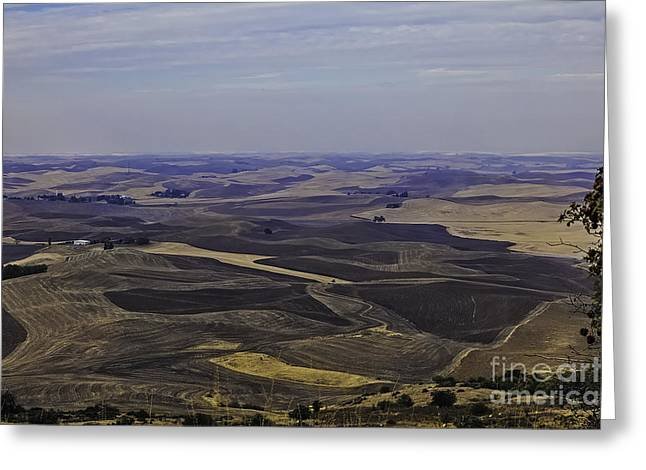 Harvest Time Greeting Cards - A Palouse State Of Mind Greeting Card by Nancy Marie Ricketts