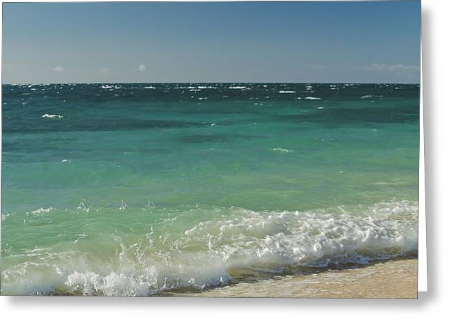 Beach Photography Greeting Cards - A Paradise Of Colour  Greeting Card by Sharon Mau