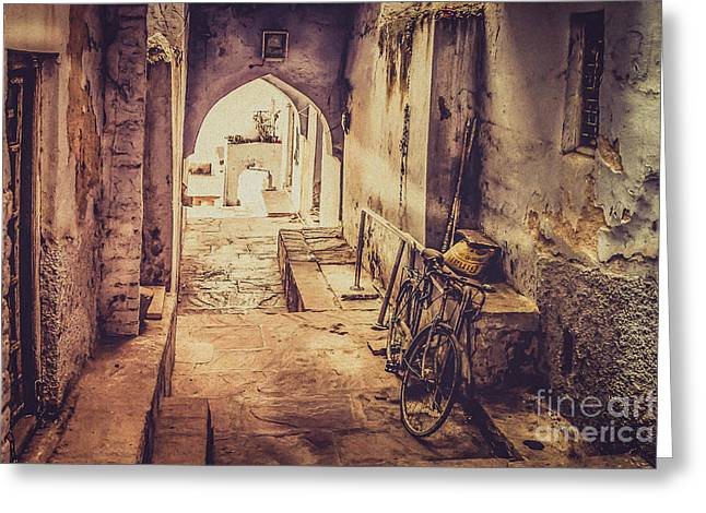 Harem Photographs Greeting Cards - A passage in India Greeting Card by Catherine Arnas