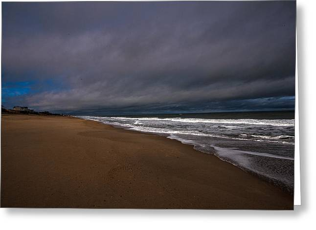 A Patch Of Blue Greeting Card by John Harding Photography