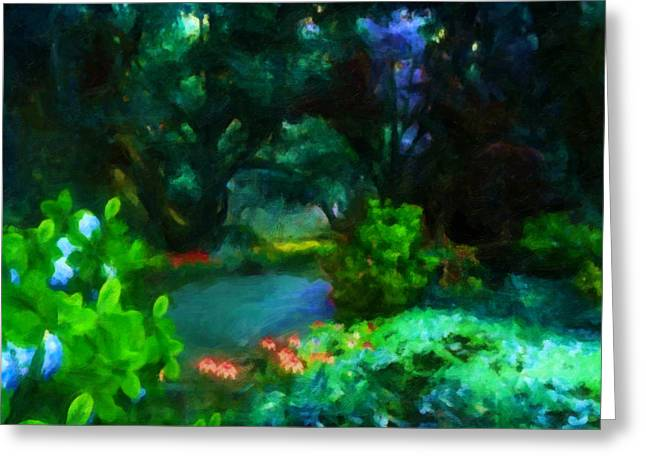 Stream Greeting Cards - A Peaceful Moment Greeting Card by Joe Misrasi