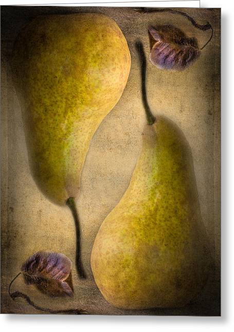 New Zealand Photographs Greeting Cards - A Pear of Pisces Greeting Card by Constance Fein Harding