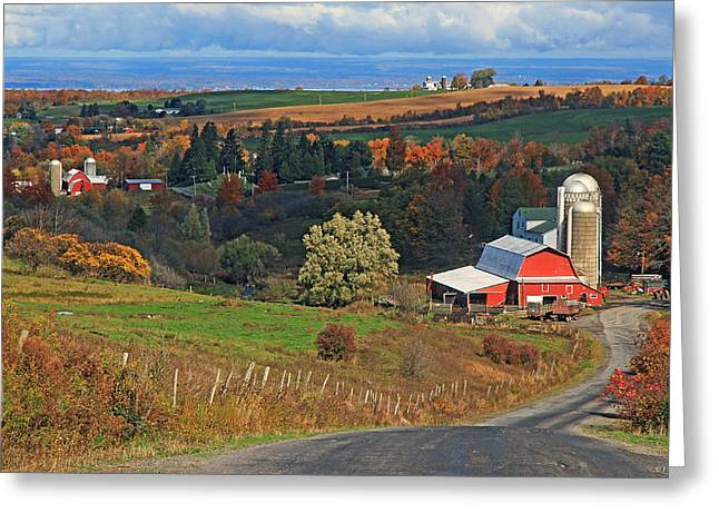 Cazenovia Greeting Cards - A Perryville October Greeting Card by John   Kennedy