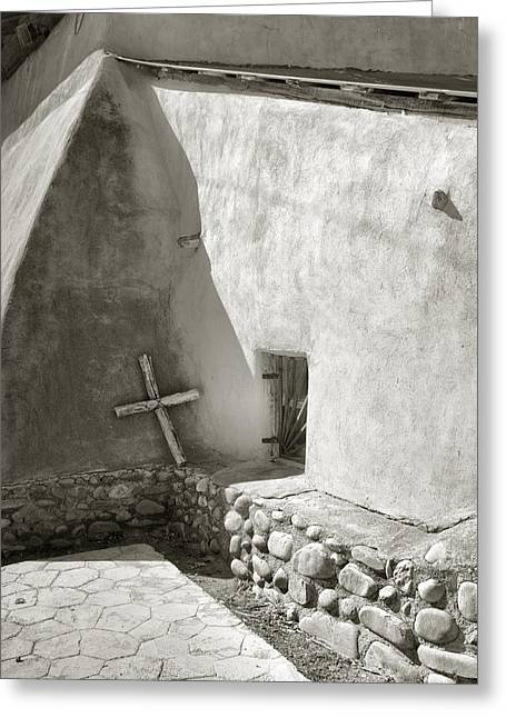 Religion Acrylic Prints Greeting Cards - A Pilgrims Cross Greeting Card by Steven Ainsworth