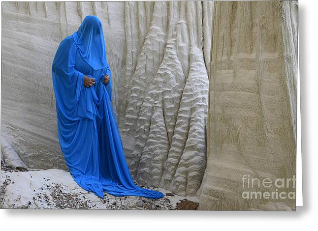 Sacred Earth Greeting Cards - A Place Called Earth 1 Greeting Card by Bob Christopher