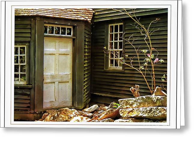 Old Maine Houses Greeting Cards - A Place of Memories Greeting Card by Marcia Lee Jones