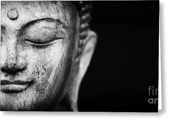 Buddha Photographs Greeting Cards - A Place to Be Greeting Card by Tim Gainey