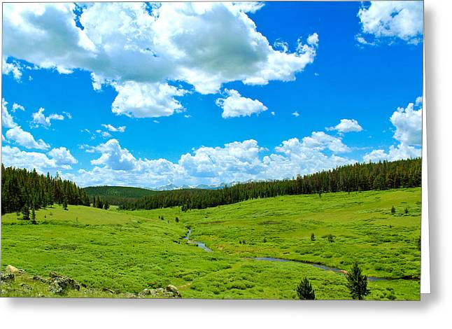 Redfeather Greeting Cards - A Place To Relax Greeting Card by Shane Bechler