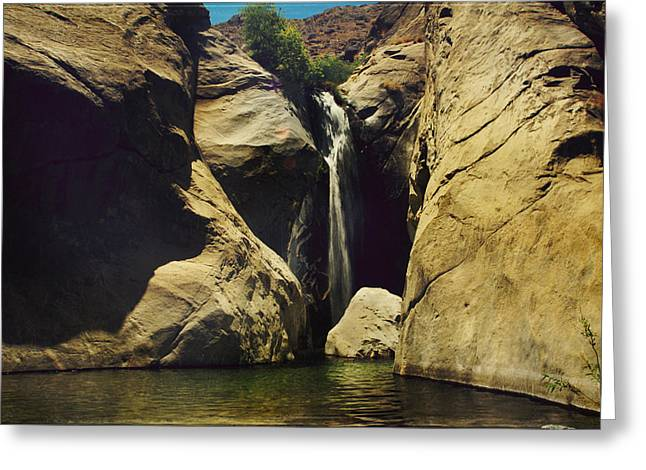 Boulder - Rock Greeting Cards - A Place to Rest My Weary Heart Greeting Card by Laurie Search
