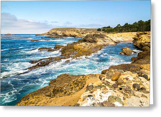 Point Lobos State Greeting Cards - A Point Lobos Point Greeting Card by Wasim Muklashy