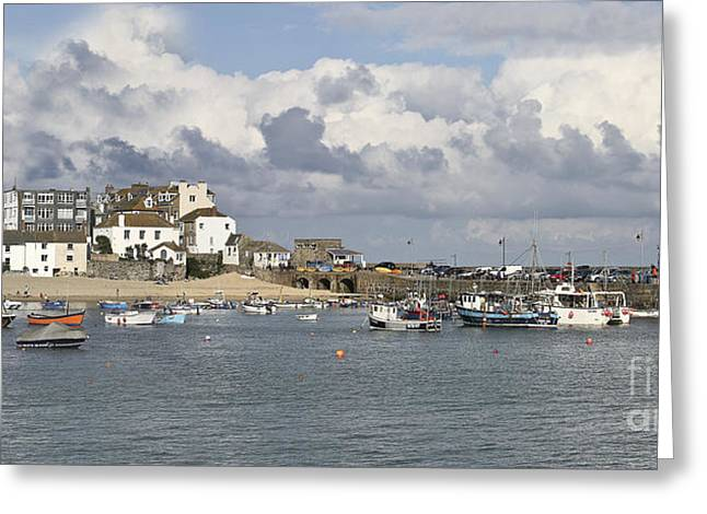 A Postcard From St Ives Greeting Card by Terri Waters