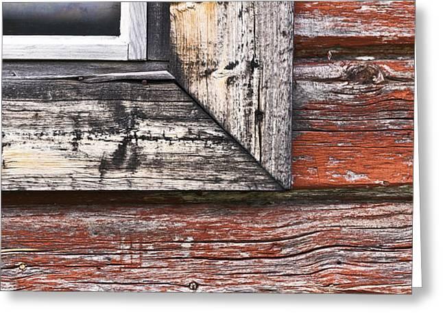 A Quarter Window Greeting Card by Heiko Koehrer-Wagner