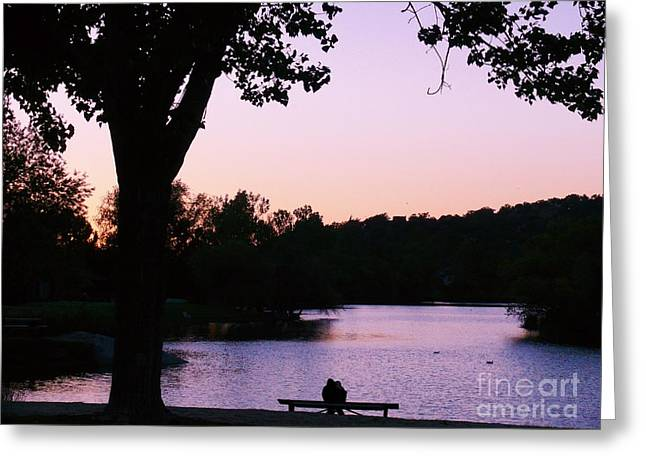 A Quiet Spot Greeting Card by Jacquelyn Roberts