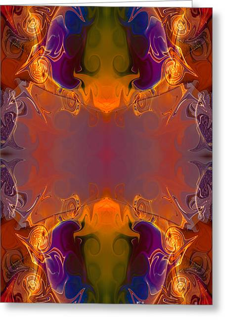 Chakra Rainbow Greeting Cards - A Rainbow Of Life Abstract Living Art by Omaste Witkowski Greeting Card by Omaste Witkowski